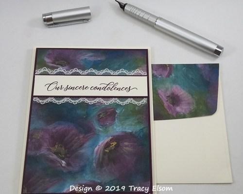 1804 Sincere Condolences Card