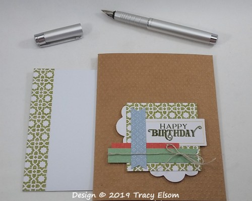 1809 Layered Birthday Card