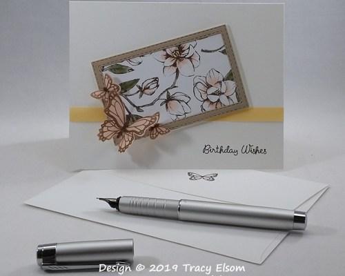 1813 Butterfly Gala Birthday Card
