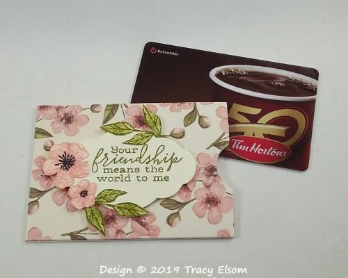 GC208 Friendship Gift Card Holder