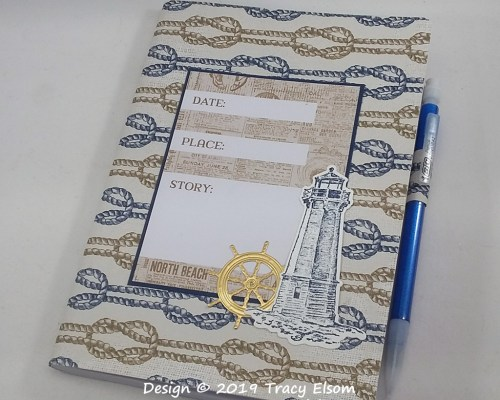 P67 Date Place Story Notebook