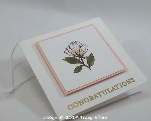 Magnolia Congratulations Tag
