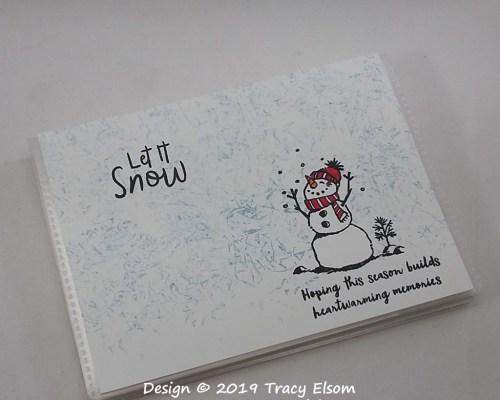P80 Let It Snow Pocket Photo Album