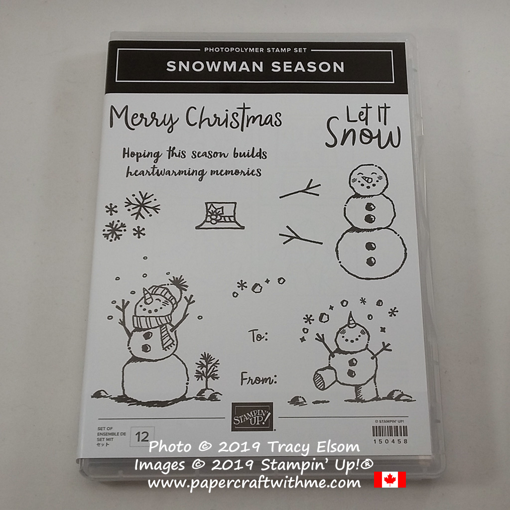 Snowman Season Stamp Set from Stampin' Up! #papercraftwithme