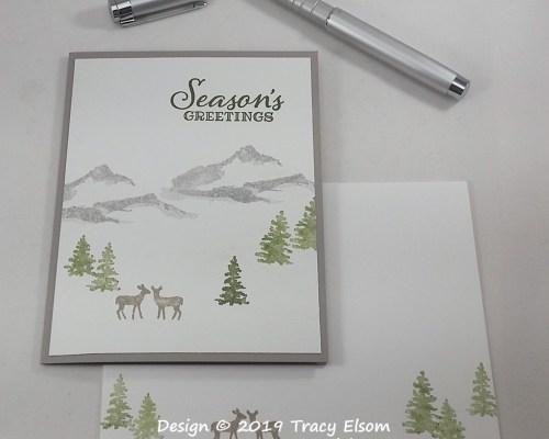 1835 Deer Season Card
