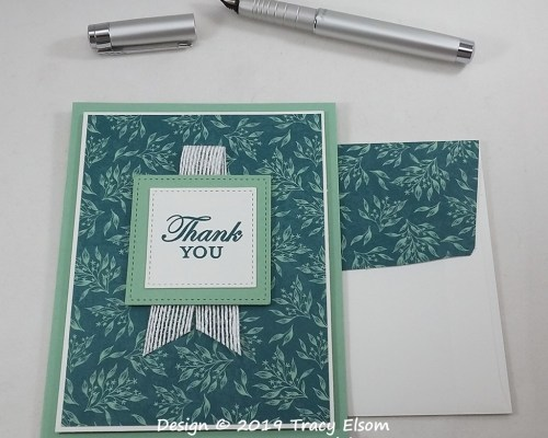 1837 Thank You Card