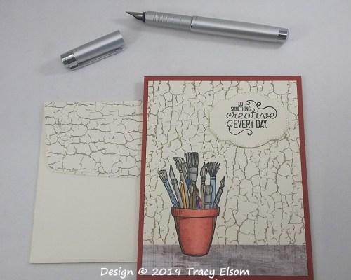 1838 Do Something Creative Card