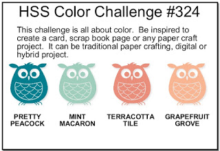 Logo for Hand Stamped Sentiments Color Challenge #HSS324 (Sep 24 to Oct 7, 2019)