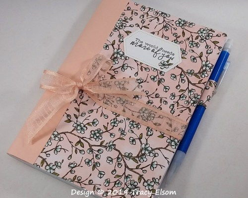 P82 Floral Notebook