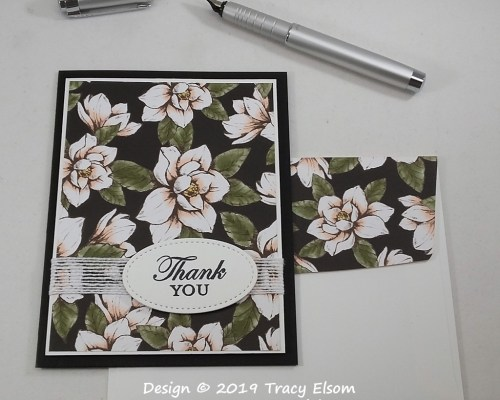 1873 Magnolia Lane Thank You Card