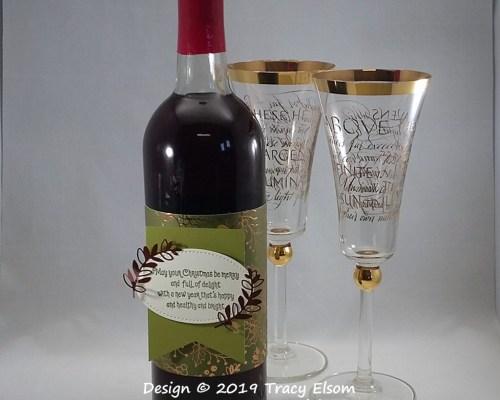 Bottle Label Wrap