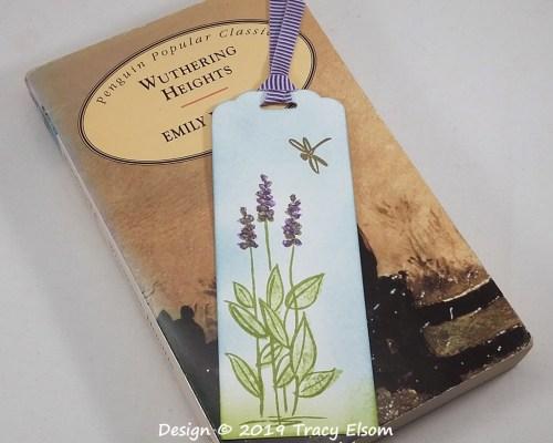 BM279 Spring Dragonfly Bookmark