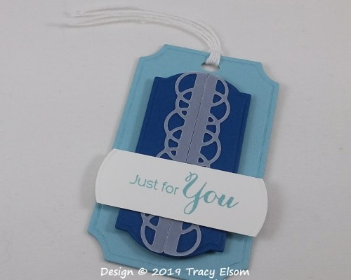Masculine Just For You Gift Tag