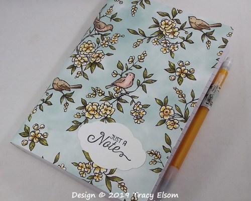 P83 Bird Lover Notebook