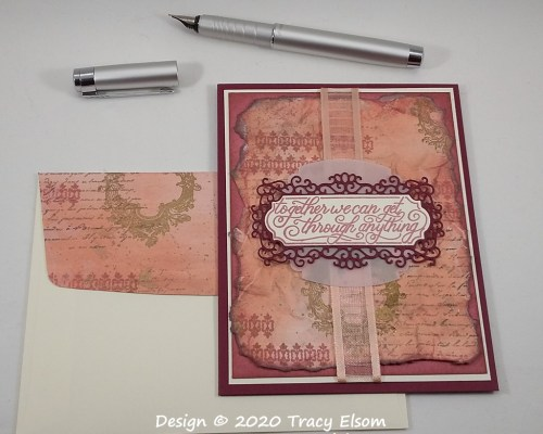 1907 Get Through Anything Card