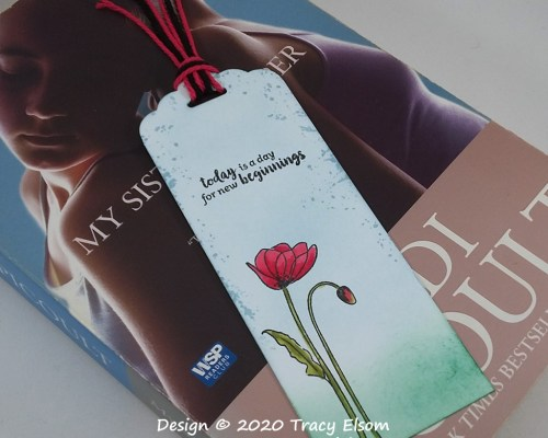 BM282 New Beginnings Bookmark