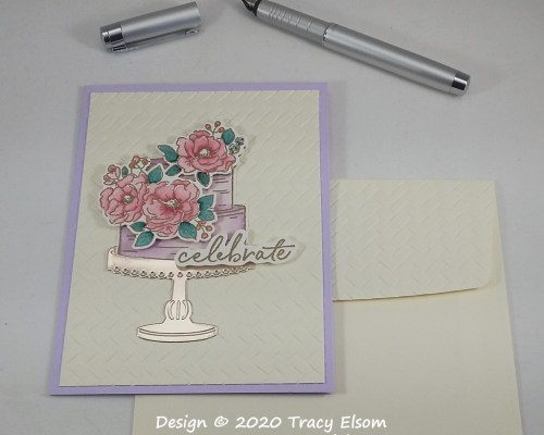 1920 Celebrate With A Cake Card