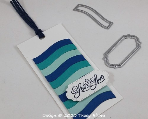 Waves Of Love Gift Tag