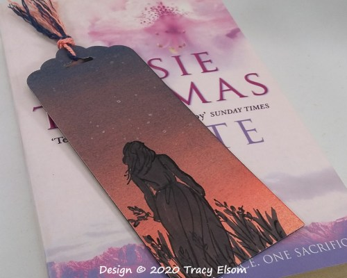 BM292 Sunset Silhouette Bookmark