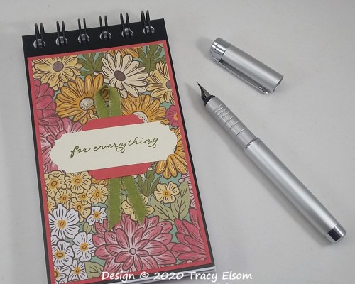 P106 Floral For Everything Notepad