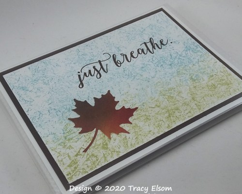 P107 Just Breathe Pocket Photo Album