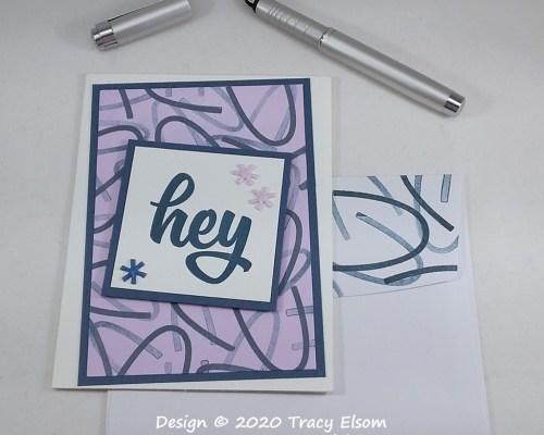 1981 Hey Card