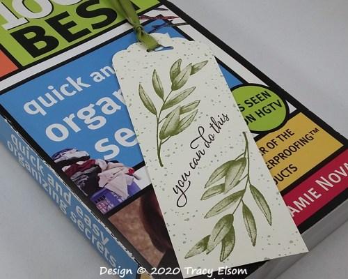 BM297 Olive Branch Bookmark