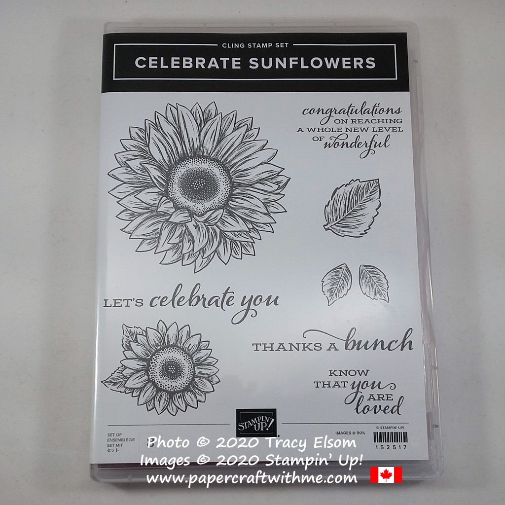 Celebrate Sunflowers Stamp Set from Stampin' Up! #papercraftwithme