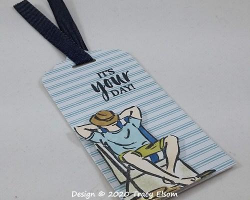 Masculine Deckchair Tag