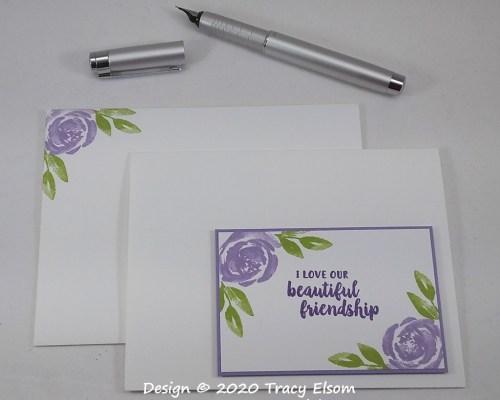 1986 Beautiful Friendship Card