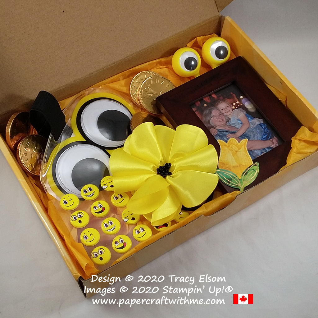 A box of sunshine inspired by the June 2020 Paper Pumpkin kit. #papercraftwithme