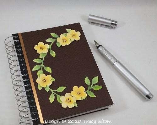 P115 Yellow Flower Notebook