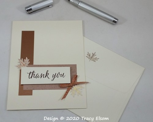 2019 Copper Thank You Card