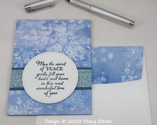 2026 Snowy Spirit Of Peace Card