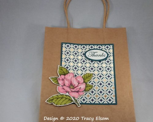BB70 Magnolia Thanks Bag