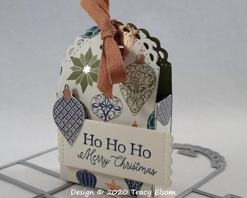 P128 Little Ornament Treat Box
