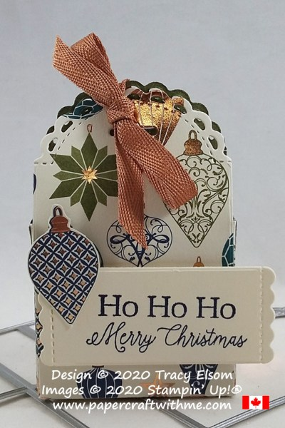 Christmas favour with tips for using the Little Treat Box Dies from Stampin' Up! #papercraftwithme