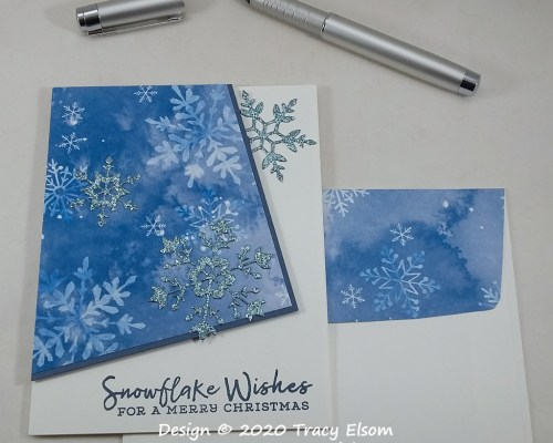 2064 Snowflake Wishes Card