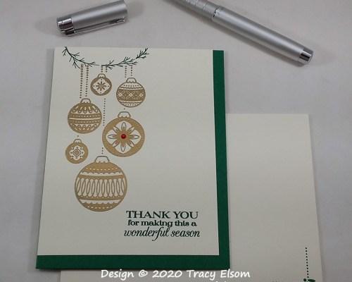 2067 Seasonal Thank You Card