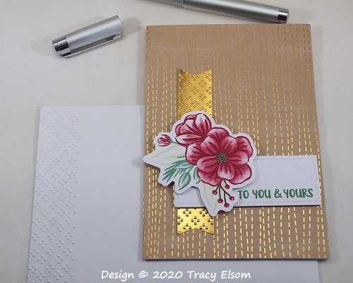 """2085 """"To You And Yours"""" Card"""
