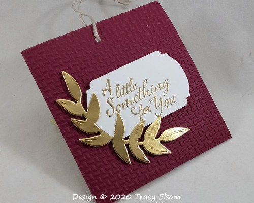 Textured All Occasion Gift Tag