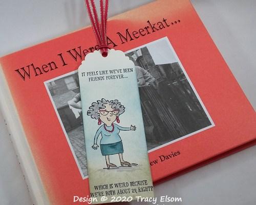 BM315 Senior Friends Forever Bookmark