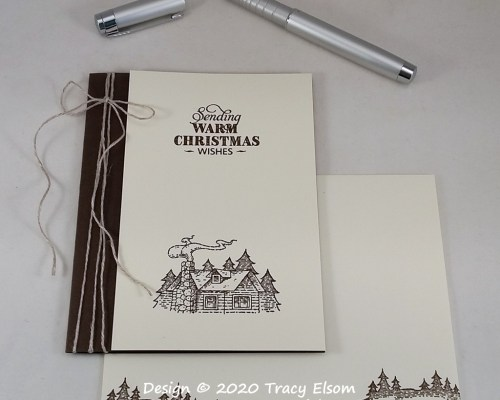 2093 Warm Christmas Wishes Card