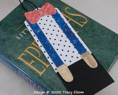 BM325 Bow Tie & Braces Bookmark