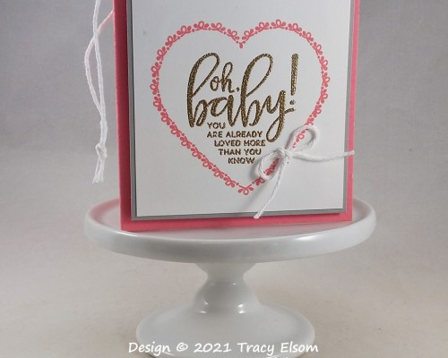 Oh Baby Gift Tag