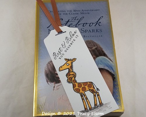BM335 Rest & Relax Bookmark