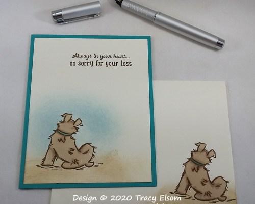2062 Dog Sympathy Card
