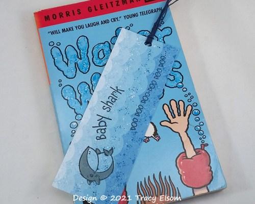 BM338 Baby Shark Bookmark
