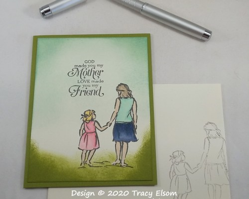 2070 My Mother My Friend Card