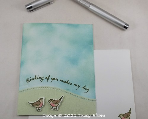 2160 Thinking Of You Makes My Day Card